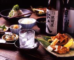 日本酒・焼酎に合う和を中心とした食事メニューをご用意