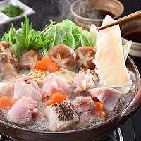 おすすめ!くえ鍋コース¥3,800(税別)+飲み放題¥1,200(税別)