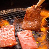 お肉の希少部位が楽しめる厳選焼肉。ホルモンもおすすめ。