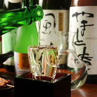 歴史ある奈良の地酒多数!観光の ゲストにも喜ばれる品揃えです