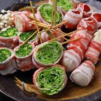 地元食材をふんだんに使用した 串焼&串かつは必食です