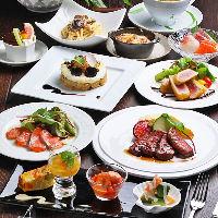 お祝いや記念日に◎黒毛和牛のステーキコースは全10品で5,980円