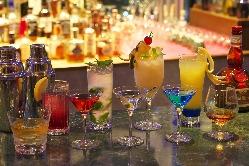 たくさんのお酒をご用意しております。