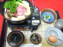 お得なミニすき焼き鍋 (うどん付き)数量限定