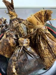 鰻の飯蒸(1個)1200円お取り寄せできます。冷凍1か月OK