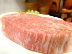 上質な黒毛和牛フィレ肉は 柔らかさと旨みが違う!