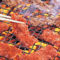 備長炭の炭火で焼肉! 歓迎会・送別会は美味しいお肉で
