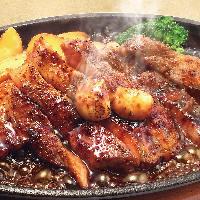 焼肉三種盛り御膳 ランチからたっぷり本格焼肉