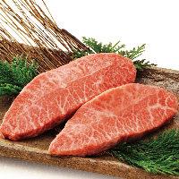 肩肉の一部「みすじ」 肉の目が細かく味も抜群!