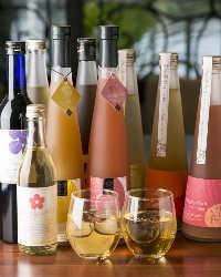 <豊富な梅酒> 梅酒好きの方必見♪PLUM厳選の100種類の梅酒