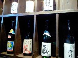 鹿児島の焼酎をメインに、 様々なお酒をご用意しております!