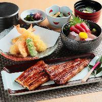 台湾産鰻と鹿児島産鰻 食べ比べ重