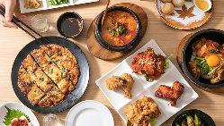かん菜の韓国料理はすべて手作り。日本人の口に合う味付けです