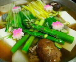 スープが甘くて美味しい、濃厚すっぽん鍋!
