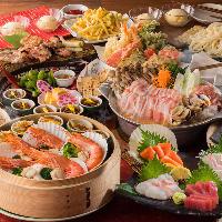 贔屓屋の宴コース【飲み放題付】4000円 各種飲み会に!