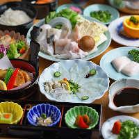 国産&天然とらふぐのコースをご用意 様々なふぐ料理を味わう