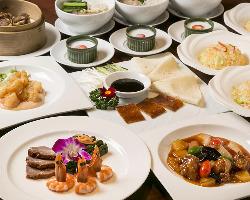 見た目にも華やかな中国料理をご提供いたします。