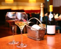 シャンパン・ワイン・紹興酒とのマリアージュも◎