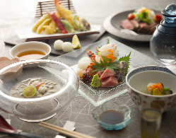 【An】和食職人が織りなす贅沢なフルコース。接待やデートにも。