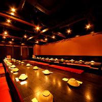 『自慢の宴会場』すべてのお席が個室になっております。