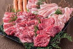 黒毛和牛のA4ランク以上のお肉を取り扱っています。