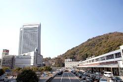 神戸北野のシンボル、 ANAクラウンプラザホテル神戸同建物内。
