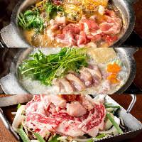 和食・洋食・お肉・魚介・旬の味、鍋料理など色々創作料理◎