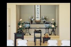 別館 桜 祭壇風景 部屋使用料込み料金21600円