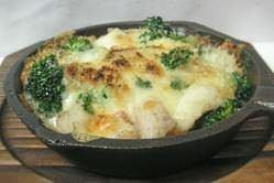 あったか海鮮チーズ焼き(チーズたっぷり)
