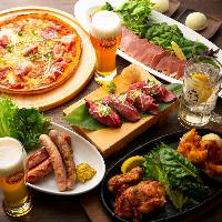 【宴会も大歓迎】 ビール付の飲み放題コースをご用意しました