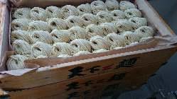 自家製麺は国産小麦粉を使用
