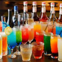 飲み放題付コースは2500~5890円♪ご予算に合わせご利用下さい。