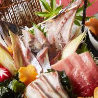 【北海の旬鮮魚】 大海の恵みを、職人技で逸品へと昇華