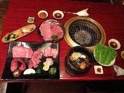 田村牛やA5ランク肉などが味わえる宴会コースございます。
