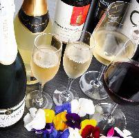 ◆お酒も豊富◆ お肉に合うワイン、ビール、焼酎などいろいろ!