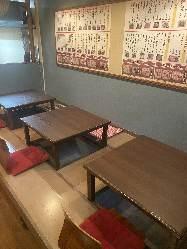 店内は座敷でもテーブルでも宴会承ります。