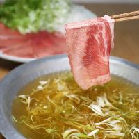 数量限定「霜降り牛タンユッケ」注文率100%?!