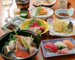 和食の定番『会席』飲み放題付き4000円ポッキリ