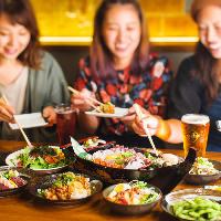【京橋×宴会】 美味い魚とお得に飲むならロバのコースが◎!