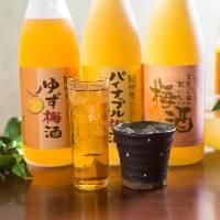 【多彩なドリンク】 和歌山の美味しさを楽しめるドリンクが充実
