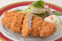 国産豚のとんかつ スープ・ライス or バゲット付 1,200円税込