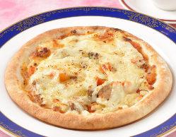 季節のピザ