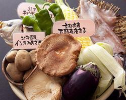 全国各地から届く旬の野菜。 生でも焼きでも美味しいです!