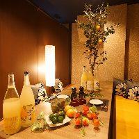 【全席完全個室】 天王寺、阿倍野駅すぐ!!柚子の空間