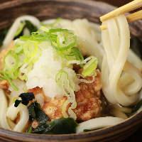 お寿司にピッタリの麺物・汁物も280円でご用意しております。