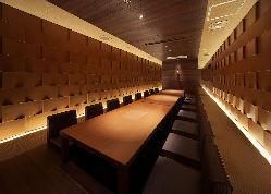 ◆お祝いや食事会等シーンに合わせた個室をご用意しております。