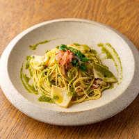 季節の味わいが楽しめるシーズナルコースは2,300円(税抜)~
