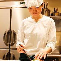 お料理は手作り♪温かみ溢れる一品に癒されてくださいね☆