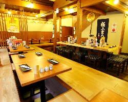 《大人数宴会》 梅田で最大40名様までの宴会が可能(フロア貸切)