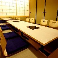 掘り炬燵個室は接待やご宴席に最適